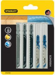Stanley t-schacht set combi hout/MET decoupeerzaagbladen