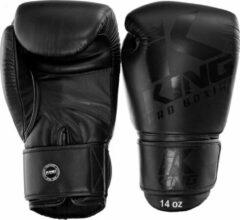 Zwarte King Pro Boxing - Bokshandschoenen - KPB/BG 8 Full Black-12 oz