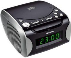 Radiowecker mit CD UR1306 schwarz