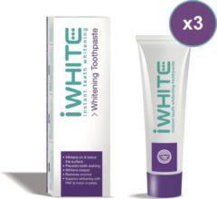 IWhite Instant Whitening Tandpasta - 3 stuks - Voordeelverpakking
