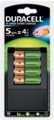 Duracell CEF15 Batterijlader NiMH Incl. oplaadbare batterijen AAA (potlood), AA (penlite)