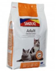 Smolke Cat Adult Kip&Rijst&Vis - Kattenvoer - 2 kg - Kattenvoer