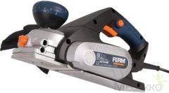 FERM PPM1010 Schaafmachine - 650W - Softgrip - 8 instelbare schaafdieptes - Omkeerbare messen - Incl. parallelgeleider en opvangzak