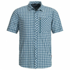 Vaude - Seiland Shirt II - Overhemd maat S, grijs/blauw