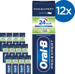 Oral-B Pro-Expert Frisse Adem Tandpasta - Voordeelverpakking 12 x 75ml