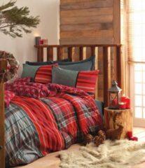 Rode Cotton Box - Ranforce Santa - Dekbedovertrekset (100% Katoen) - 240X220 CM