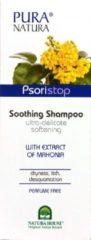 Pura natura Psoristop Shampoo tegen droge, geïrriteerde hoofdhuid en jeuk-250 ml.