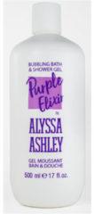 Alyssa Ashley Trendy Line Purple Elixer Bath & Shower Gel (500ml)