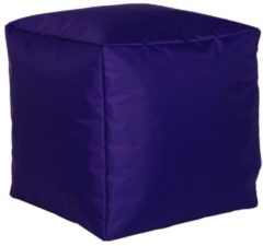 Sitzwürfel Hocker Sitzkissen Nylon purple 40x40x40 cm Linke Licardo purple