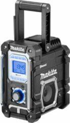 Zwarte Makita DMR106B Bluetooth Bouwradio 7,2V-18V / 230V Li-ion Losse Body