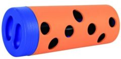 Trixie Cat Activity Snack Roll - Kattenspeelgoed - 6/5 × 14 cm Wit Blauw