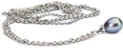 Trollbeads TAGFA-00056 -TAGFA-00062 Sterling zilveren collier met peacock parel [60 -120 cm]