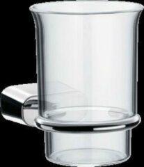Emco Logo 2 glashouder met glas chroom 302000102
