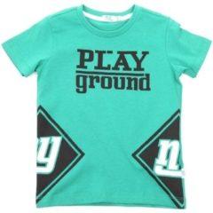 Groene T-shirt Korte Mouw Melby 70E5544