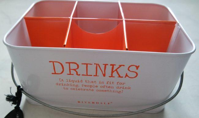 Afbeelding van Oranje Riverdale drankjes houder