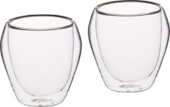 Transparante Set van 6 Tumblers / Glazen - 250ml - KitchenCraft | Le'Xpress