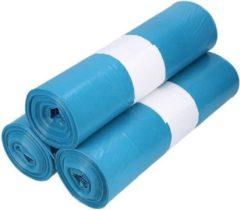 4UStore Afvalzak LDPE 80x110 cm blauw T60 200 stuks