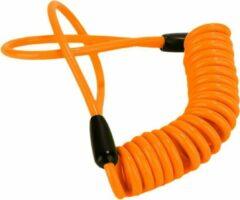 Lyno Motor schijfremslot reminder - motor slot - schijfremslot - motorfiets slot - motor - slot - reminder - Oranje