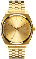 Goudkleurige Nixon Time Teller All Gold/Gold A045511 - Horloge