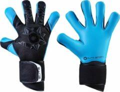 Witte Elite Sport Neo Aqua Keepershandschoenen - Zwart / Aqua | Maat: 8