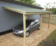 Gardenas | Carport aanbouw | 300x500 cm