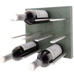 Groene STACT Gunmetal Grey wijnrek - 9 flessen