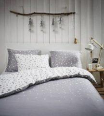 Grijze Esprit Raining Stars Dekbedovertrek - Litsjumeaux - 240x200/220 cm - Grey