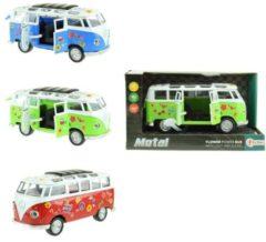 Toitoys Toi-toys Flower Power Bus Groen 18 Cm