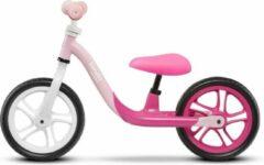 Loopfiets Lionelo Alex roze kleur zeer licht