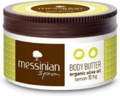 Messinian Spa Body Butter met Citroen en Vijg - Bodybutter