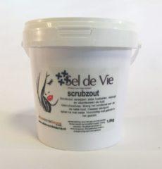 Sel de Vie Scrubzout Bamboe (groen) 1,5kg