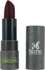 Rode Boho Lipstick Mat Transparant Fique 309 (mat transparant)
