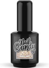 Gouden Nail Candy Gellak: Dripping in Champagne - 15ml