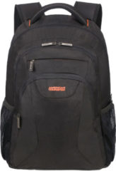 "Zwarte American Tourister At Work Laptop Backpack 17.3"" black/orange backpack"