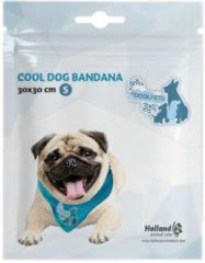 Blauwe Coolpets Koelbandana Petrol - Hondenverkoeling - Small