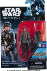 Hasbro Star Wars: Rogue One Sergeant Jyn Erso (EADU) actiefiguur met projectiel