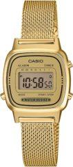 Gouden Casio Chain Watch - Unisex Sport Accessoires