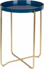 Donkerblauwe Feliz Celina - Bijzettafel - Donker Blauw