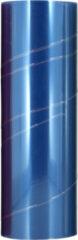 Blauwe AutoStyle koplamp /achterlichtfolie 1000 x 30 cm blauw