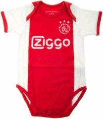 Rompertje Ajax Amsterdam wit/rood/wit Ziggo maat 74/80