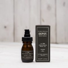 Depot The Male Tools & Co Ulei Pentru Barba Depot 500 Beard & Mustache Specifics No.505 Conditioning Leather & Wood, 30ml