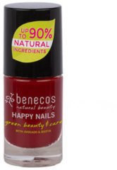 Rode Benecos Vegan Nail Polish Cherry Red