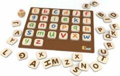 Viga Toys Educatief Spel Alfabet Hout 54-delig