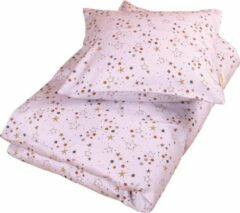 Paarse Filibabba - Donsovertrek 100 x 140cm - Stars Light lavender - One size