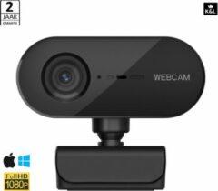 K&L® FULL HD WEBCAM 1080p - GRATIS PRIVACY SLUITER - QUAD HD - AUTOFOCUS met Microfoon - Webcam voor PC - Noise Cancelling - Geschikt voor Windows en Apple