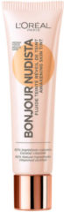 L'Oréal Paris Bonjour Nudista Skin Tint BB Cream 30ml (Various Shades) - Medium Dark