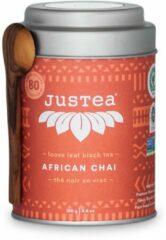 African Chai - JUSTEA - 100 gram/80 kop - Theekado - Biologische losse thee - Fairtrade !