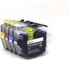 Cyane Inkmaster huismerk Cartridge Brother LC3219XL /LC-3217XL, multipack van 4 kleuren (1*BK, C, M en Y) voor Brother MFC-J5330 DW, J5730DW, J5930DW, J6530DW, J6535DW, J6930DW, J6935DWHoge capaciteit XXL