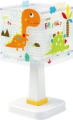 Witte Dalber Tafellamp Dinos Glow In The Dark 29 Cm Wit
