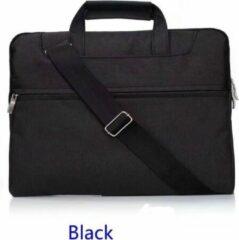 H.K. Laptop tas zwart geschikt voor 13-14 inch